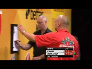 Denmark vs South Africa (PDC World Cup of Darts 2013 / First Round)