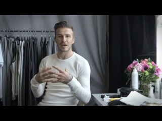 Interview with David Beckham - H&M Holiday 2013