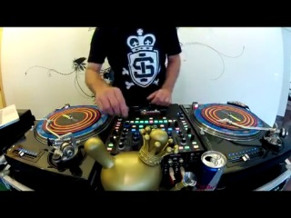 DJ Nedu Lopes Red Bull Thre3Style World Final Routine 2012