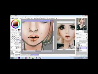 Paint Tool Sai speed paintig