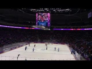 Олимпиада в Сочи! Канада-Финляндия!