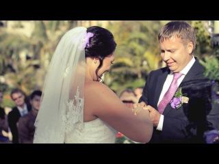 Wedding Day in Tenerife R&A  Свадьба на Канарах - это всегда яркое солнце, горный ветер с вулкана, бушующий Атлантический океан, счастливые люди и море любви! Все друзья и самые близкие съехались на это событие с разных уголков земли! Октябрь 2013 / Испания / Канарские острова / Остров Тенерифе / Румия и Алексей  Смотреть всем!