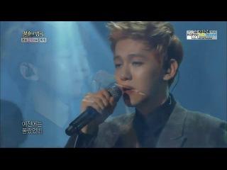 130817 baekhyun & chen - really i didn't know @ immortal song 2