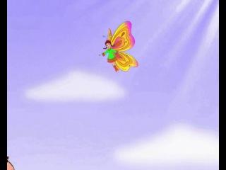 Бала белән Кубәләк - Ребенок и бабочка