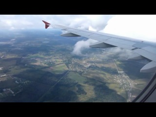 полет Стокгольм-Москва сентябрь 2012. Рейс Аэрофлота
