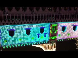 Лазерное шоу в Макао