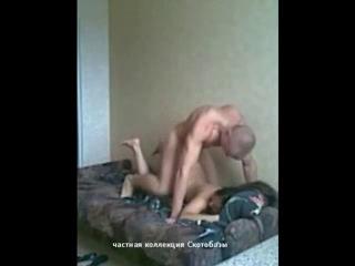 Секс под скрытой камерой казашек