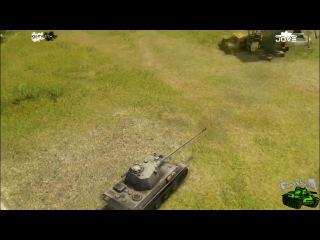 Кавказская песня про немецкий танк пантера))