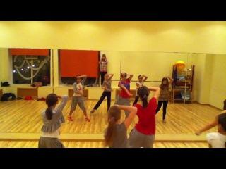 современные танцы для детей R'n'B jazz-funk