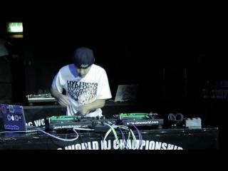 Dj IZOH Japan Чемпион DMC World DJ Championships 2012