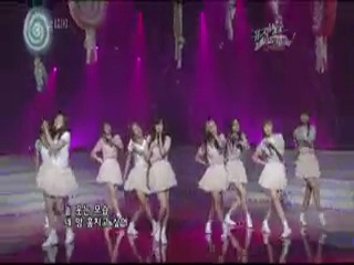 [PERF] SNSD - Kissing You, Baby Baby & Girls' Generation (KBS2 Music Bank Goodbye Stage /080411)