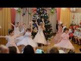 Танец снежинок группа №8