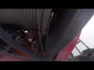 Русские взобрались на Шанхайскую башню(650 метров)