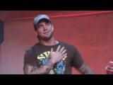 CM Punk, Santino Marella, Kelly Kelly - Madrid, 2009