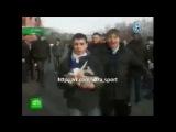Бомжи привезли котенка на выезд в Москву