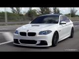 Супер ролик рекламы дисков с участием BMW M5 F10