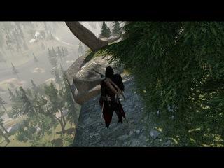 1 место самого высокого прыжка веры в Assassin's creed 3