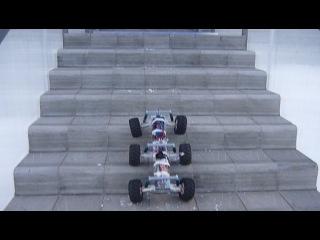 6WD спуск с лестницы
