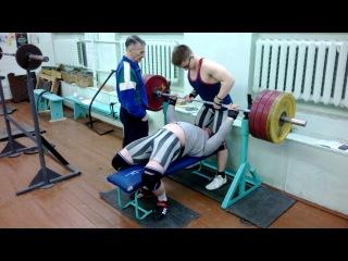 Константин Беляков - жим 200 кг.
