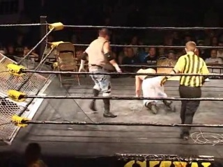 Drake Younger Scotty Vortekz vs. Jon Moxley Sami Callihan - [CZW - A Tangled Web 2][08.08.2009]