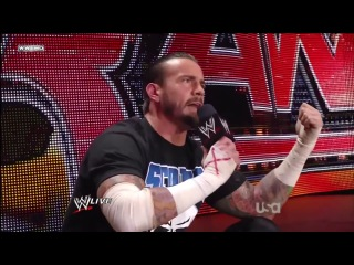 Cm punk's first pipe-bomb explosion: raw, june 27, 2011