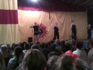 Ритмическая гимнастика 6 отряд, строитель 2013.