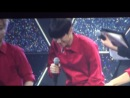 [FANCAM] 140411 EXO: D.O vs Baekhyun @ Greeting Party in Japan 'Hello'
