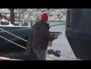 Любовь Орлова покидает порт (сюжет канадского канала NTV, 23 января 2013 г.)