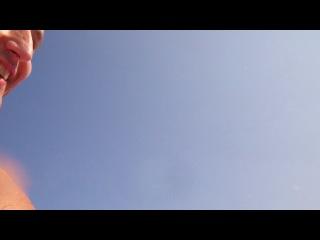 Аквапарк Кирилловка 2013 Самая крутая и экстремальная горка (синяя)