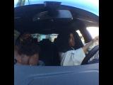 Black Jesus & the Homie Moses stuck in Traffic....