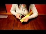 Как сделать ПоПом из креп-бумаги/вариант №2