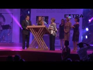 Видео с премии, как поздравляли Тони Рамоса. (Марианна Шименес и другие актёры)