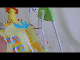 Детская качеля-качалка (зеленая) склад 1