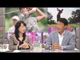 Yamauchi Suzuran в передаче Midokoro Mansai PGA Nihon 3-Open от 2 октября 2013