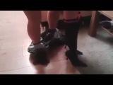 ПРИКОЛ: красивый секс)) НЕ порно. домашнее частное русское видео.