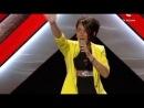 ЮРия ПРаксина Euphoria Loreen X Factor Украина 2012