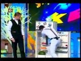 Игорь и Лена.Холодильник.КВН-2012. Днепропетровск.