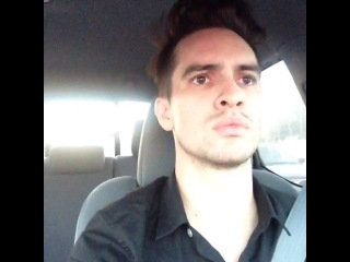 Brendon Urie - Thanks, Christian radio! I would've never known I had a problem OR where the Lord's redemption was.