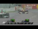 Формула-1 (Гран-при Канады 2011): Двойной обгон Шумахера (Алонсо и Кобаяси)