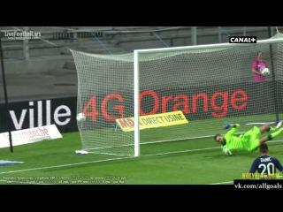 Товарищеский матч 2013. Лион 1 - 0 Реал Мадрид. Гол Гранье. 24-07-2013
