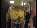 где то в екб 2012 год....L..v..z ритм секция и Косяк(репетиция)