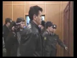 Суд над А. Литвиненко  - арест в зале суда