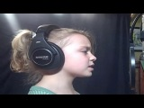 Больно-Кристина Агилера Крышка поют Noelle (9 лет)