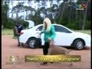 07 10 13 Susana y su perra Thelma el ataque de amor de su mascota en Punta del Este