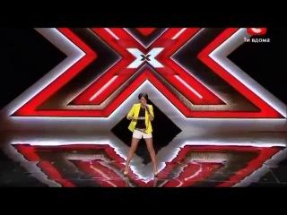 X-Фактор Украина Юлия Плаксина Loreen-Euphoria.wmv