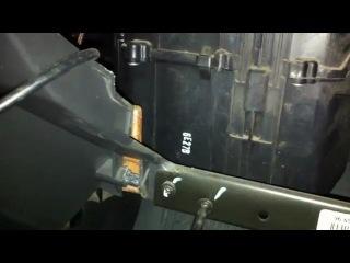 Замена фильтра салона на Chevrolet Aveo (Авео) седан 3 кузов