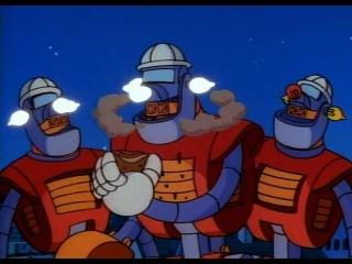 1987 90 мультсериал Утиные истории Duck tales Похитители роботов Robot robbers 10 я серия