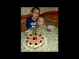 Настюша день рождения-годик под музыку Евгений Дога - Вальс- из ф-ма Дом для Серафимы. Picrolla