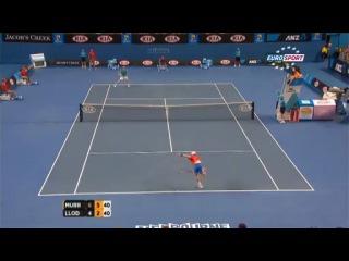 Llodra vs Murray [Australian Open 2012]