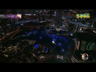 Новый год 2013 в Дубае(HD)Феерверк_Dubai fireworks New Years